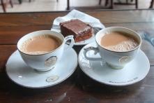 Tea tastings at their cafe